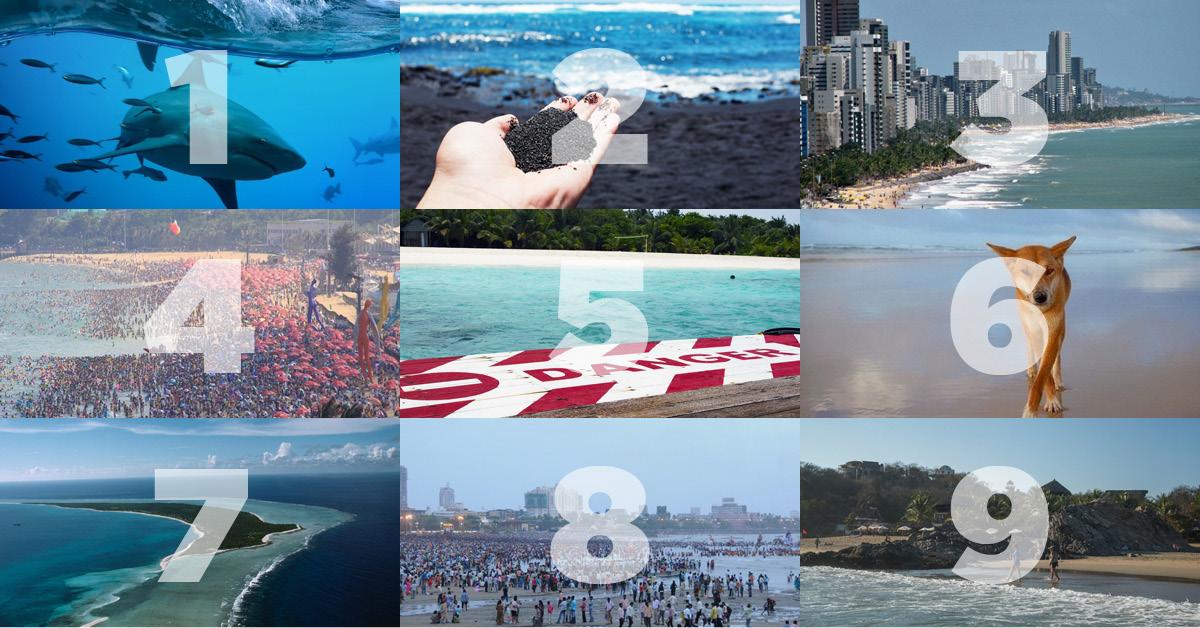 Le 9 spiagge più pericolose al mondo