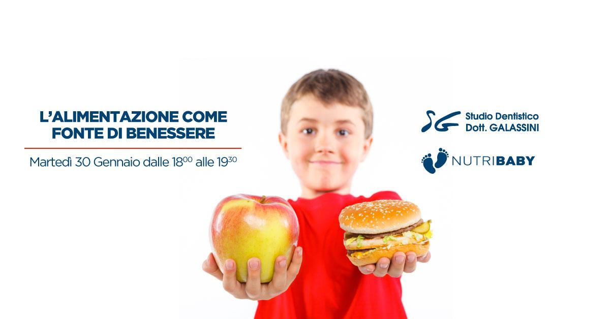 L'alimentazione come fonte di benessere – 30 Gennaio 2018