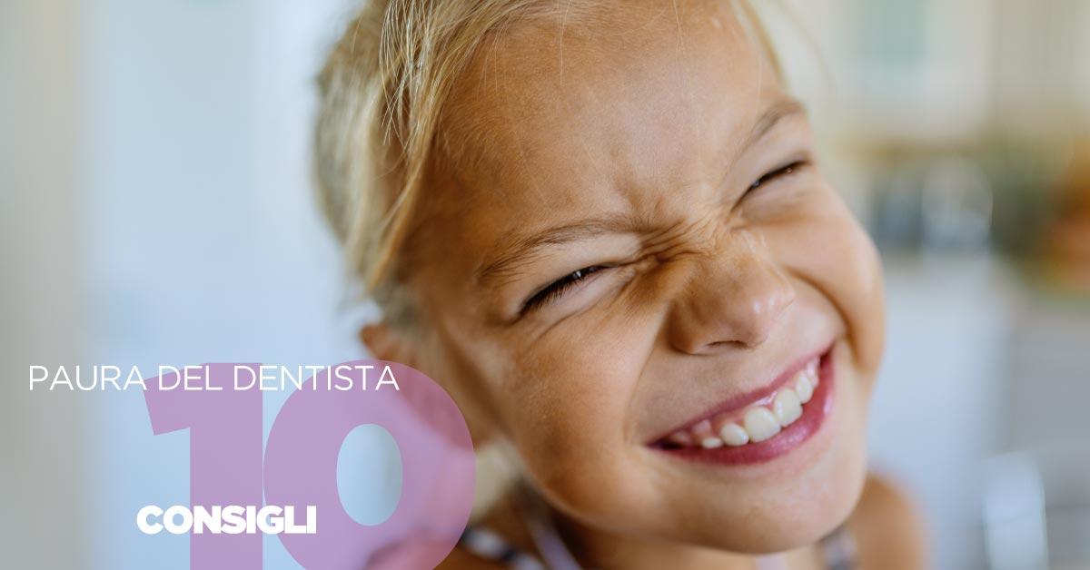 Bambini e paura del dentista