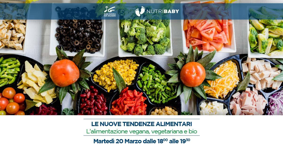 Le nuove tendenze alimentari – 20 Marzo 2018