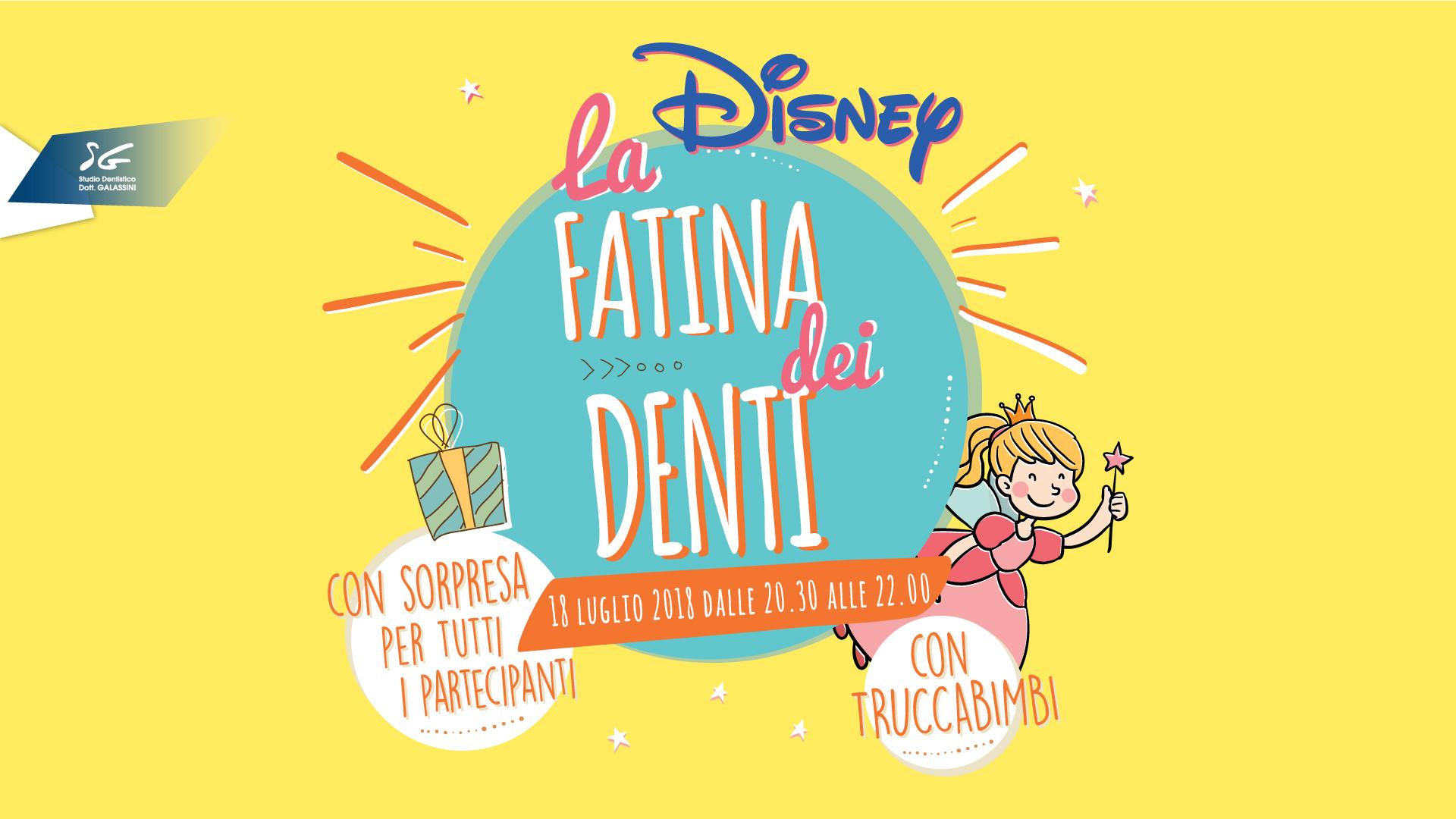 Fatina dei denti – Mercoledì 18 Luglio 2018