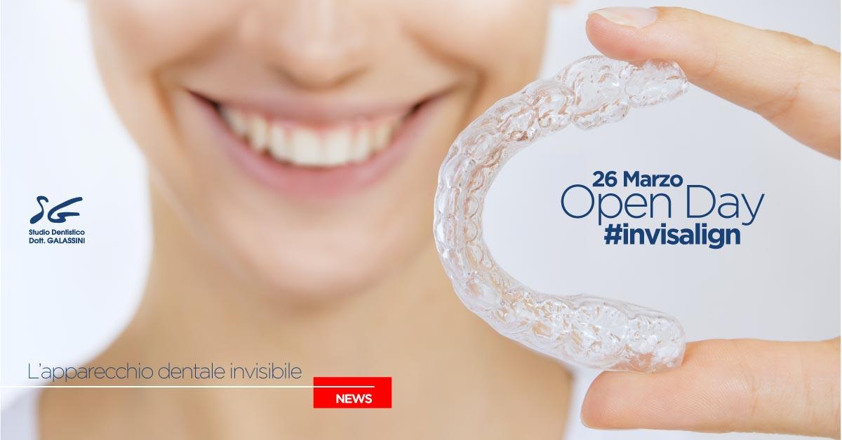 Apparecchio dentale invisibile Invisalign